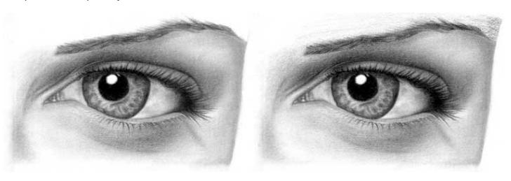 Учимся рисовать глаза человека - шаг 14