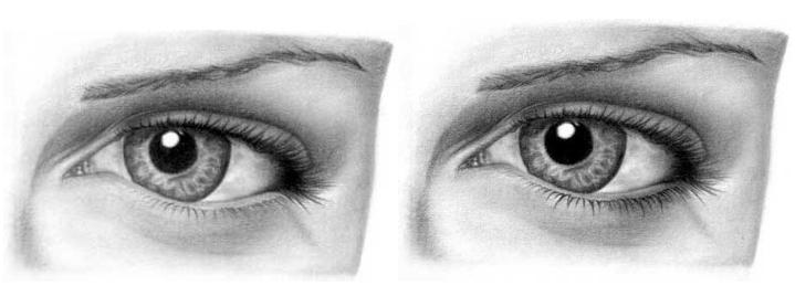 Учимся рисовать глаза человека карандашом поэтапно