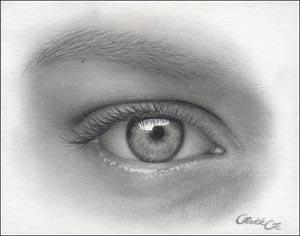 Рисуем реалистичный глаз девушки - шаг 13