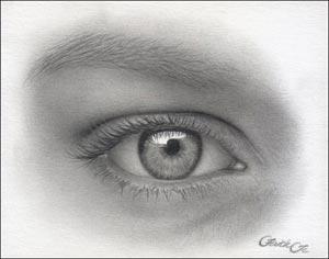Рисуем реалистичный глаз девушки - шаг 15