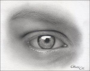 Рисуем реалистичный глаз девушки - шаг 12