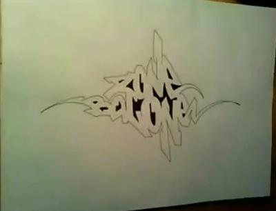 Рисунки Баллончиком На Бумаге Инструкция