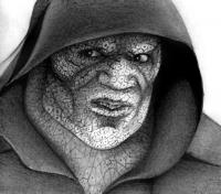 Как нарисовать Убийцу Крока из Отряд самоубийц поэтапно