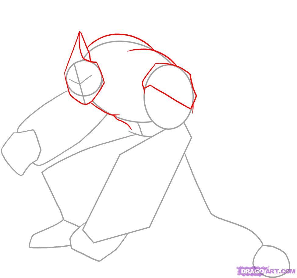 Рисуем Алмаз из Ben 10