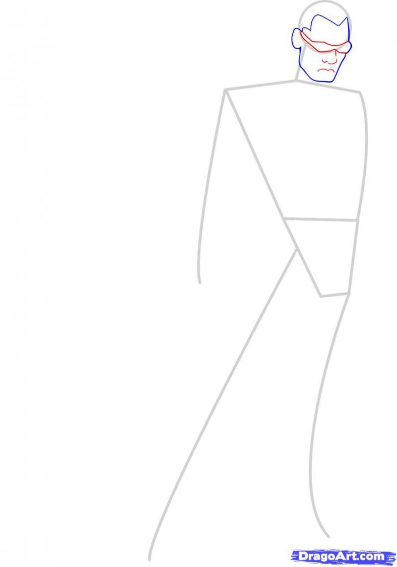 Рисуем Блэйда на бумаге