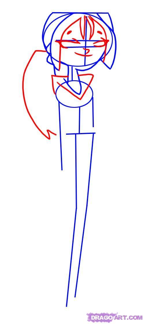 Как нарисовать Бриджетт