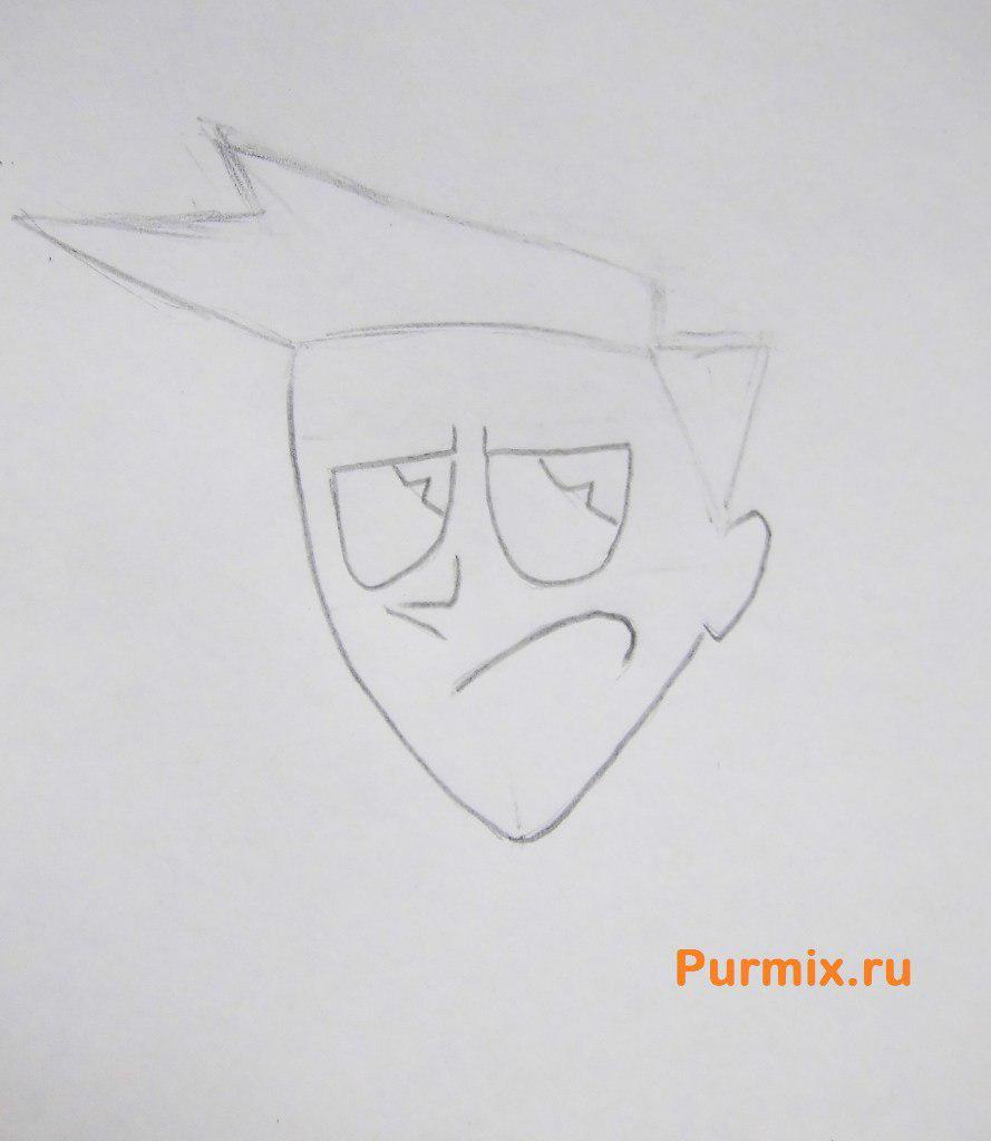 Рисуем Брэдли Карбанкла из Икс-Джей 9