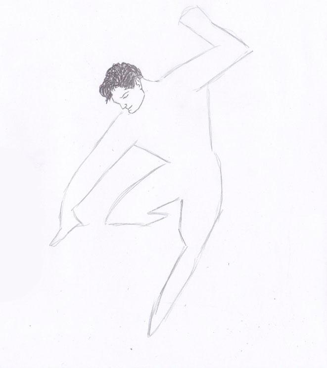 Рисуем Человека из стали - шаг 3