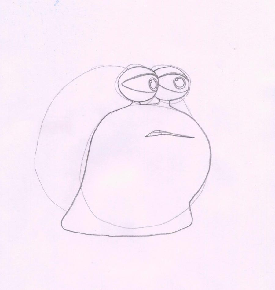 Рисуем Чета из мультфильма Турбо