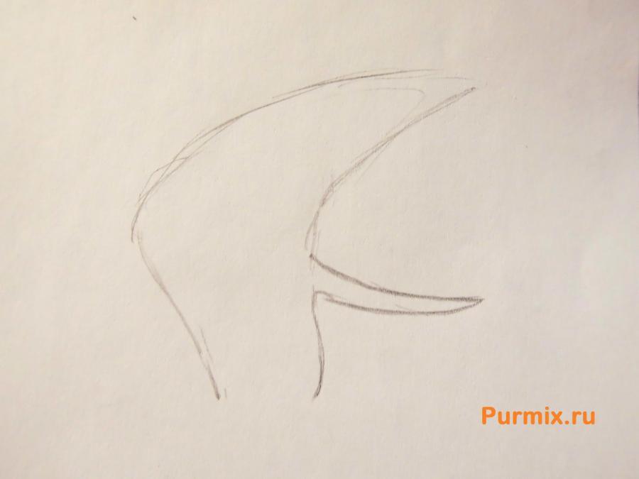 Рисуем Доктора Норина из Жизнь и приключения робота подростка
