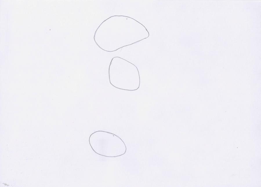 Рисуем Дорожного бегуна из Весёлые мелодии