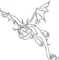 Фото дракона Жуткая жуть из Как приручить дракона