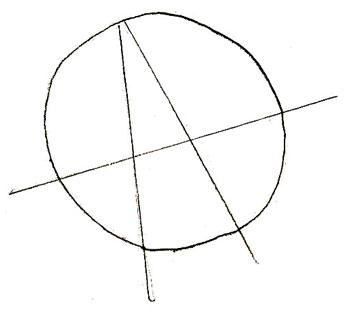 Рисуем Ежика из смешариков