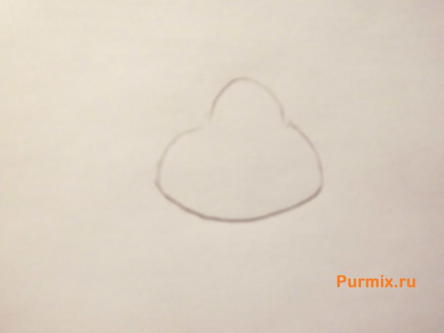 Как нарисовать Гарольда Бермана из Эй, Арнольд карандашом