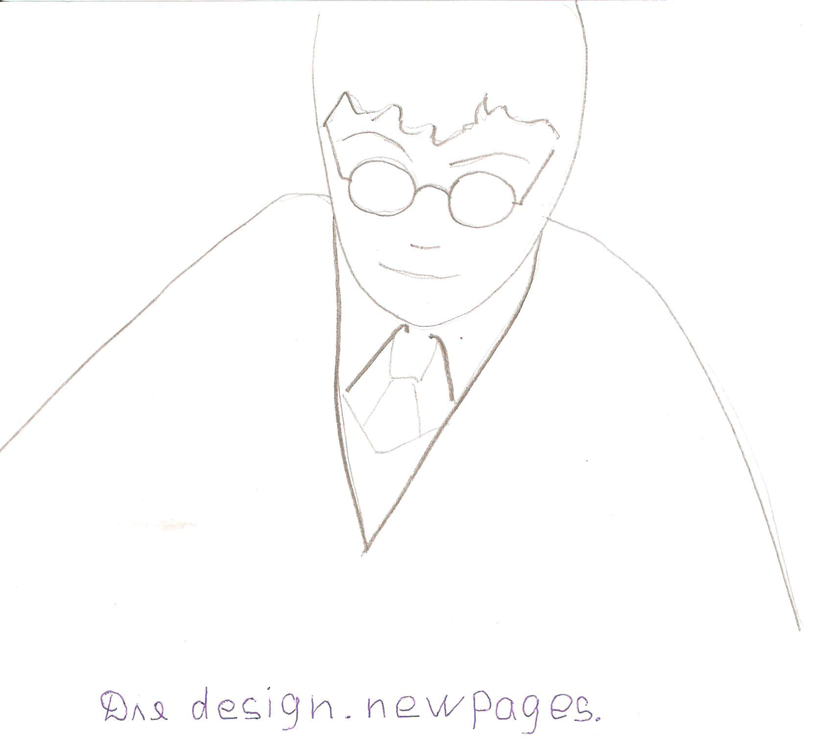 Как нарисовать Гарри Поттера карандашом поэтапно