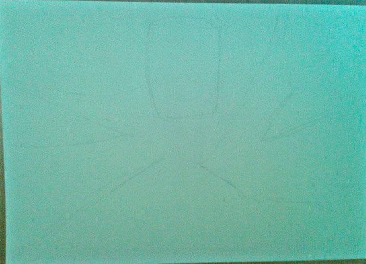 Как нарисовать и раскрасить Спауна поэтапно - шаг 1
