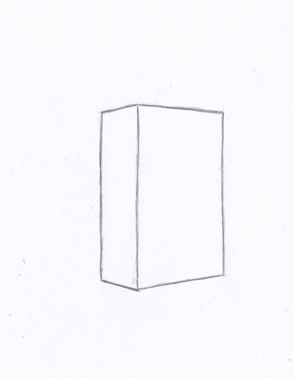 Рисуем Крипера из игры Майнкрафт - шаг 1