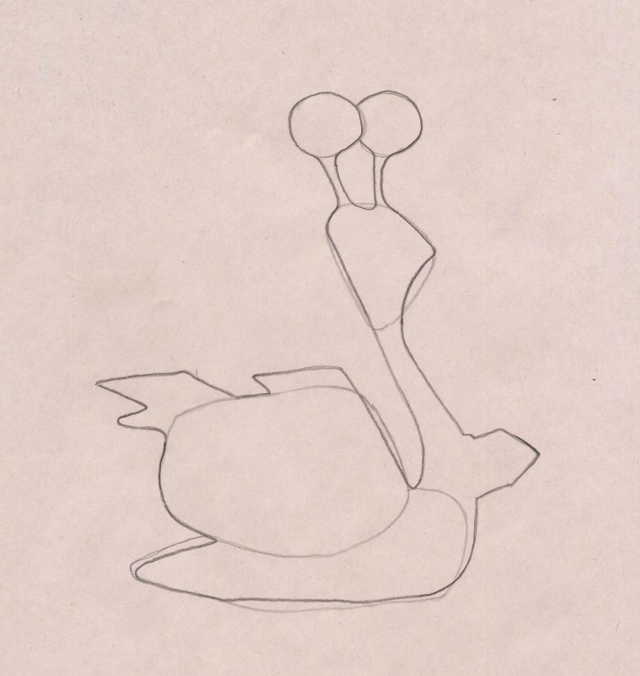 Рисуем Крутого Виража из Турбо