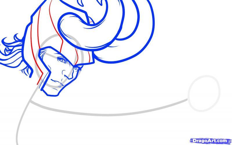 Рисуем Локи из Мстителей