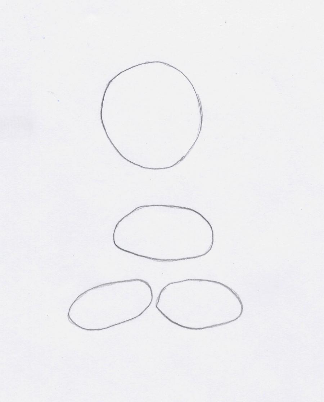 Как нарисовать Марвина из Весёлые мелодии карандашом