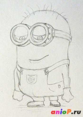 легкий рисунок карандашом: