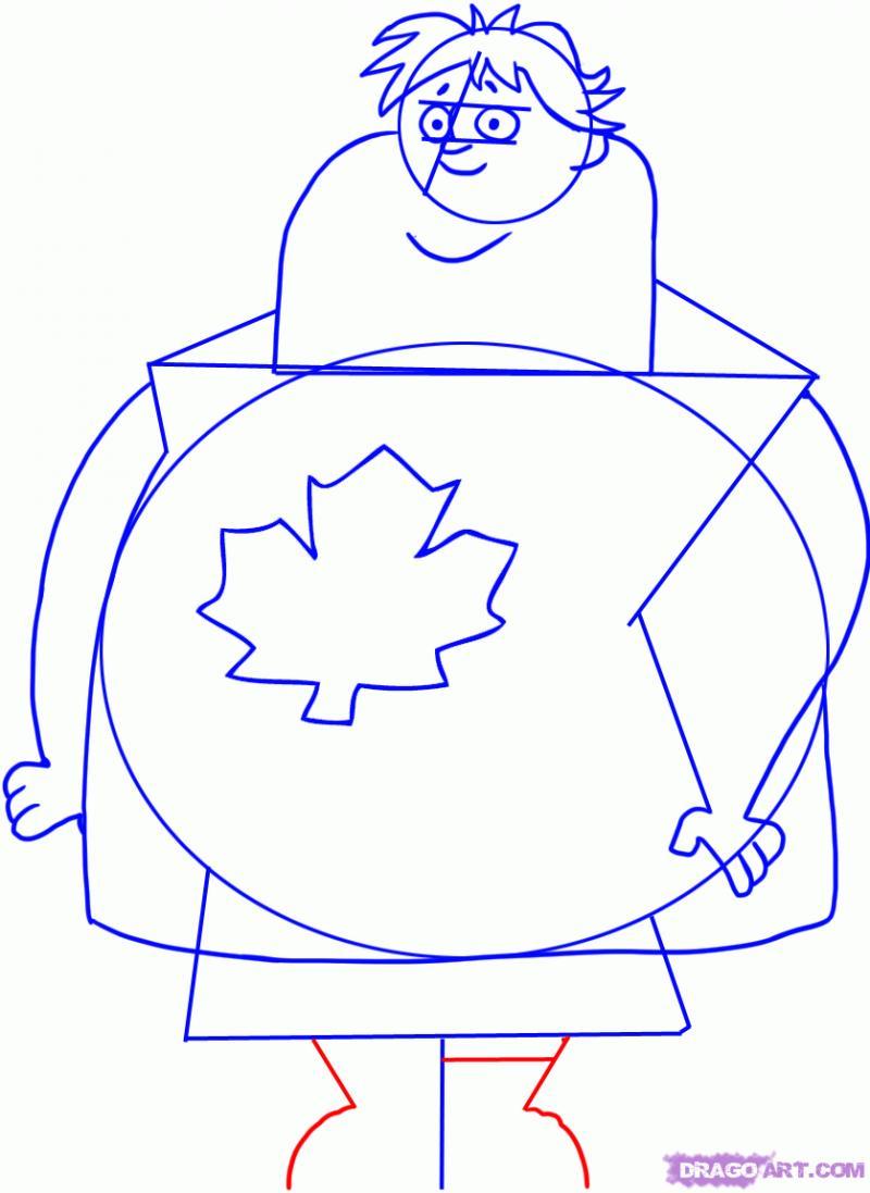 Рисуем Оуэна   из TDI