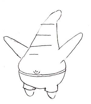 Как нарисовать Патрика карандашом поэтапно
