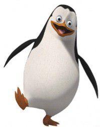 Как нарисовать пингвина Рядового из Мадагаскара поэтапно