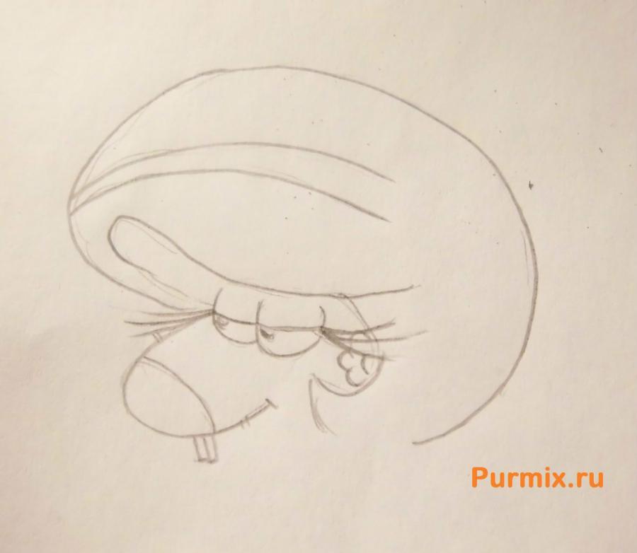 Рисуем семицветик из мультсериала Крутые бобры