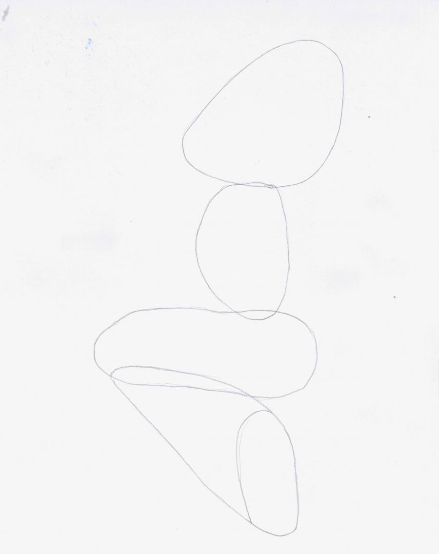 Как нарисовать сидящею Лолу Банни из Весёлые мелодии