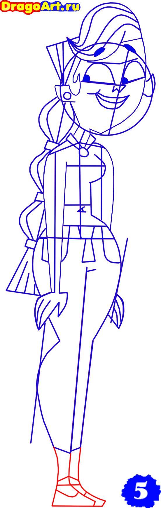 Рисуем Сиерру из Остров отчаянных героев
