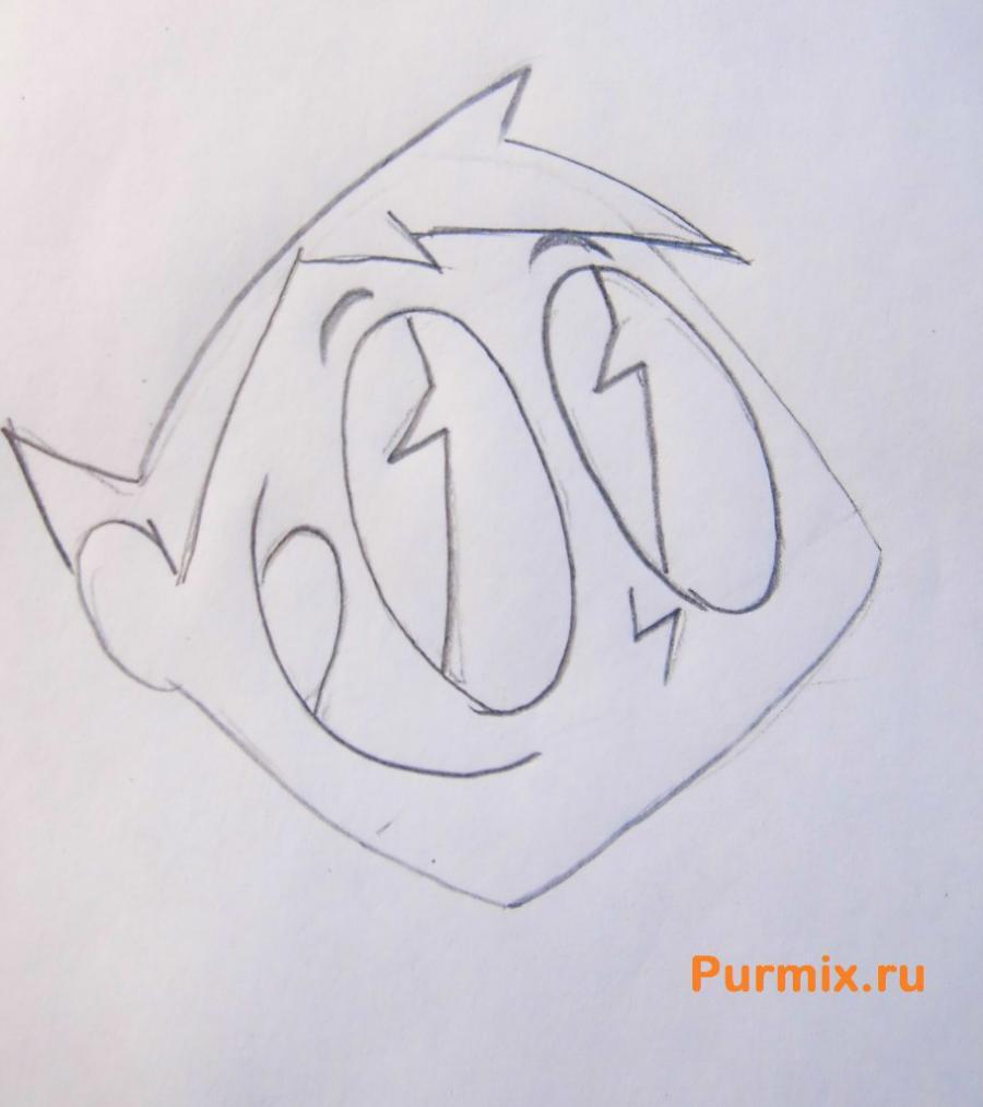 Рисуем Такера Корнелиуса Карбанкла из Икс-джей 9