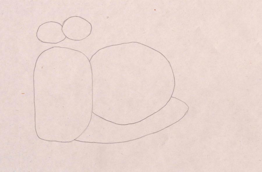 Рисуем улитку Ожог из Турбо