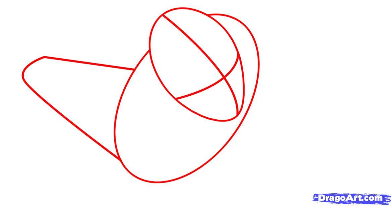Рисуем Железного Человека в полете - шаг 1