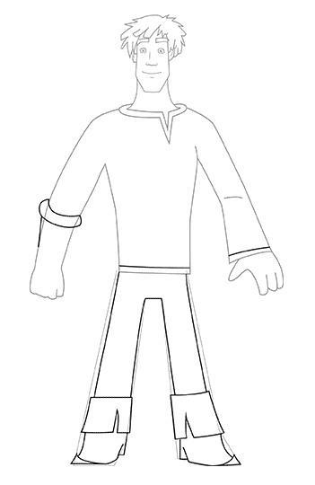 Как просто нарисовать Ивана Царевича