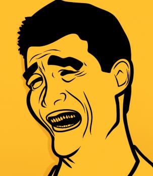 Рисуем Яо Мин лицо (Yao Ming Face)