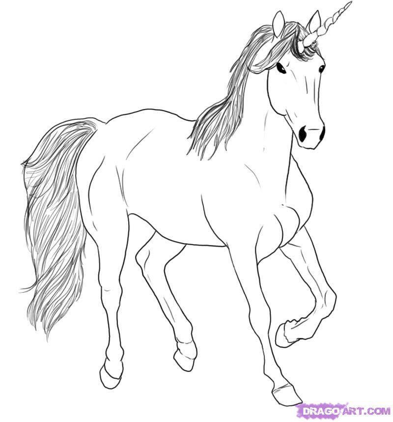 Рисуем небесного Единорога - фото 5