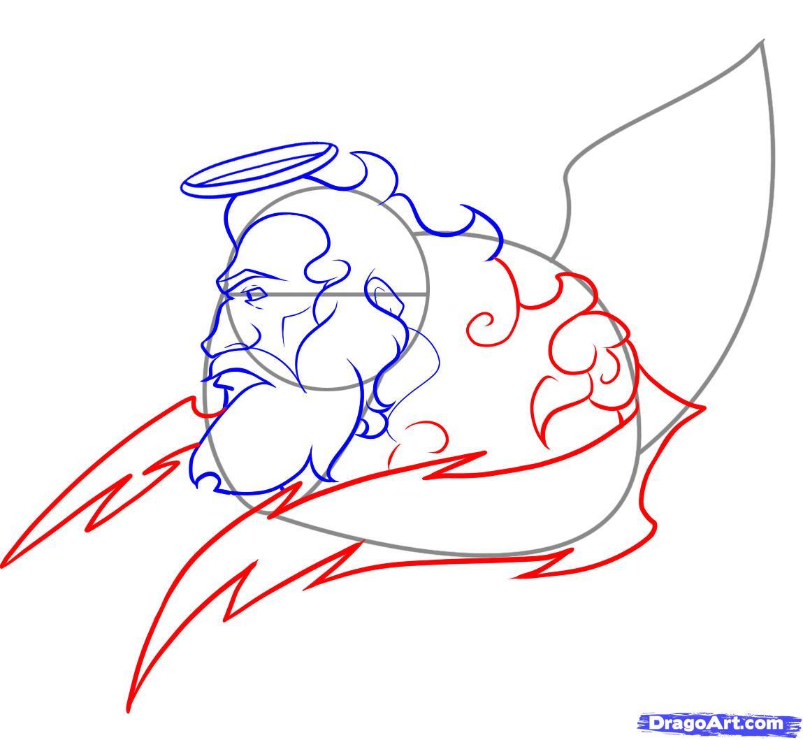 Как нарисовать Бога поэтапно