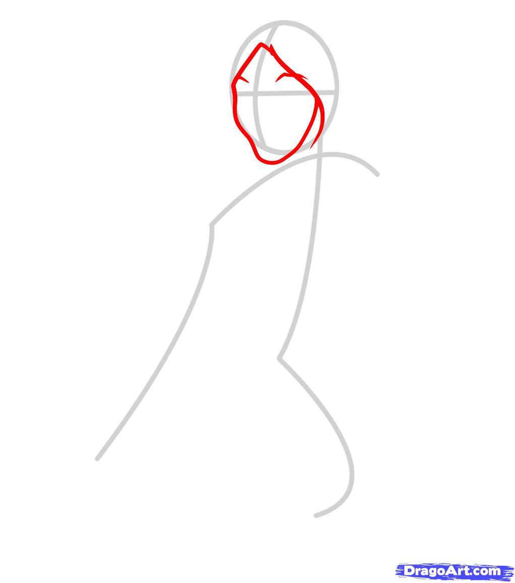 Христос рисунок поэтапно