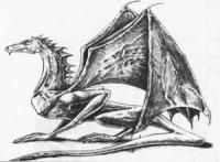 Дракона карандашом