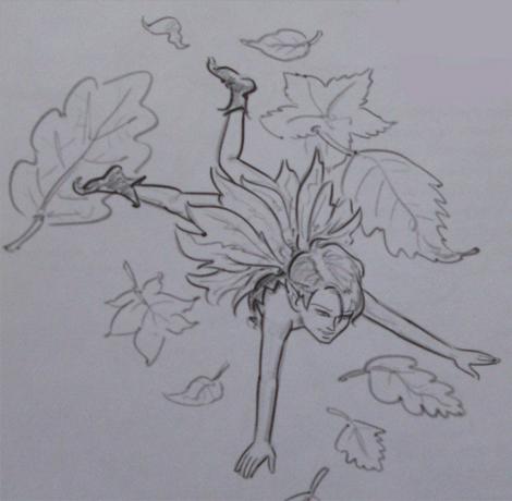 Как нарисовать эльфа лесовика