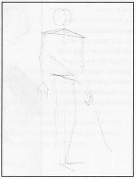 Рисуем Эльфа с луком - фото 1