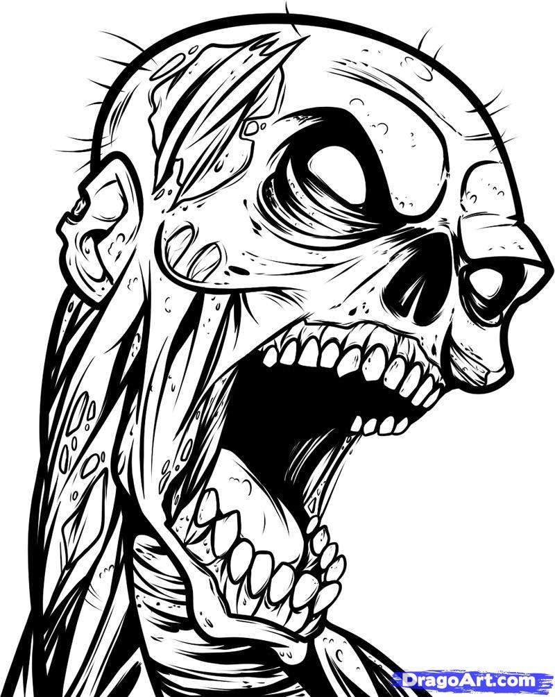 рисунки карандашом зомби:: pictures11.ru/risunki-karandashom-zombi.html