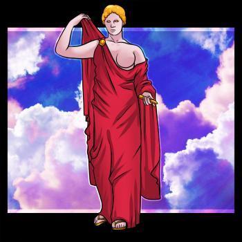 Рисуем греческого Бога