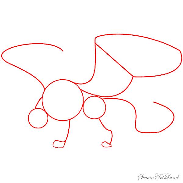 Рисуем Грифона