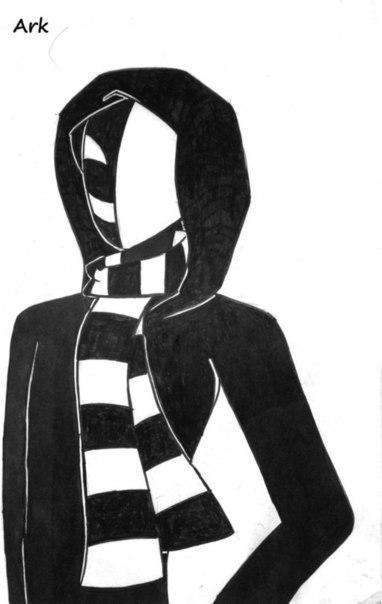 Рисуем КагеКао из крипипасты