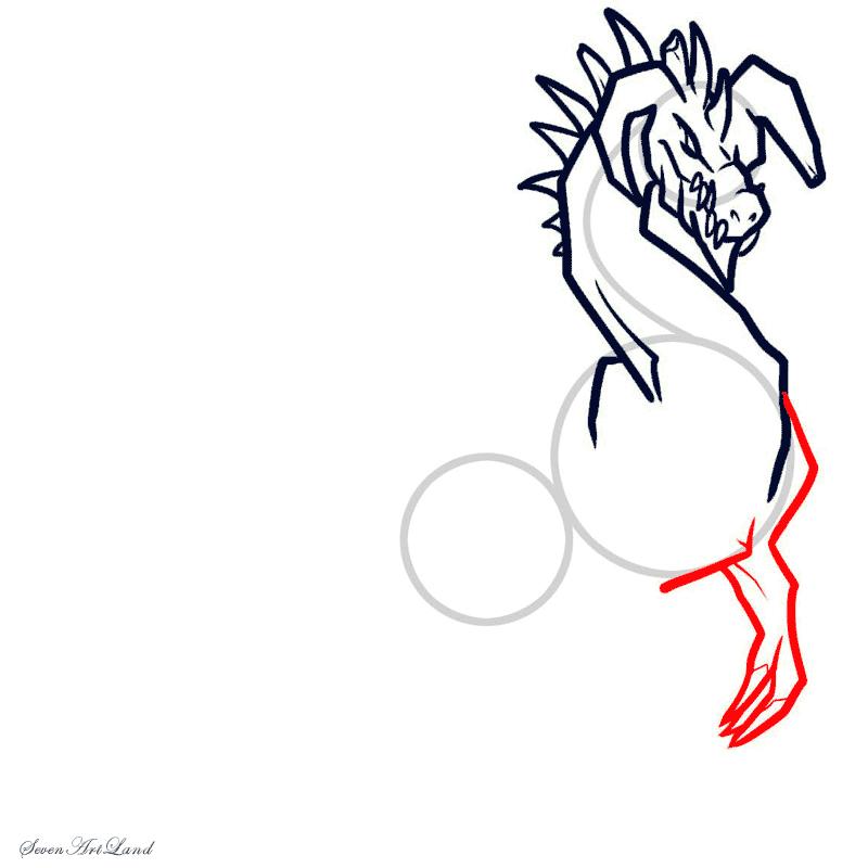 Рисуем Ледяного Дракона