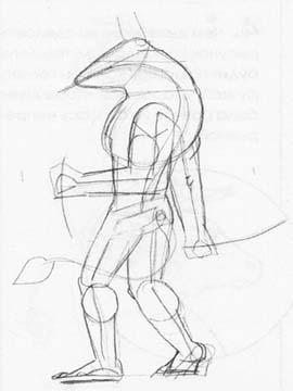 Рисуем Минотавра карандашами - фото 2