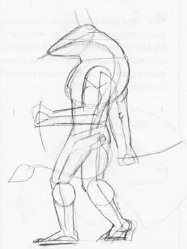 Рисуем Минотавра карандашами - фото 3