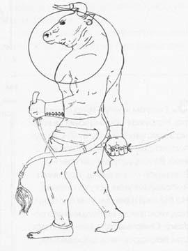 Рисуем Минотавра карандашами - фото 5
